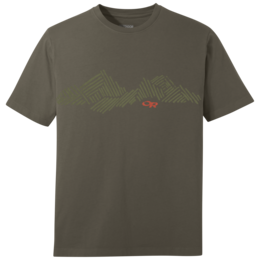 OR Men's Mountain Stripe Tee fatigue