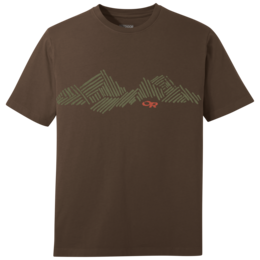 OR Men's Mountain Stripe Tee earth