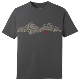 OR Men's Mountain Stripe Tee charcoal