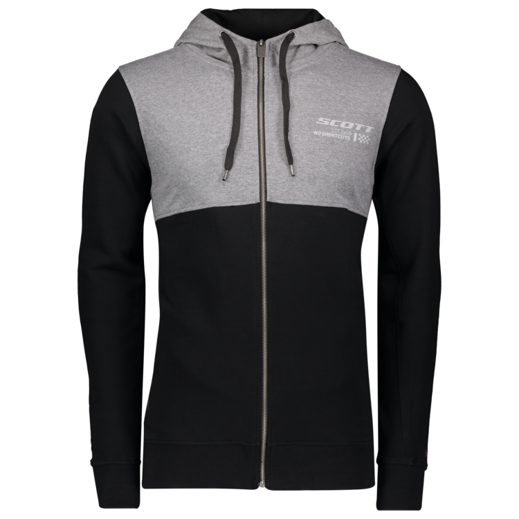 SCOTT 10 Casual l/sl Zip Hoody