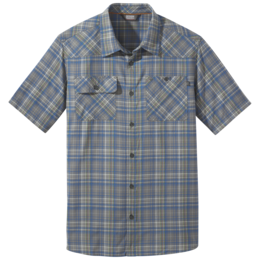 OR Men's Growler II S/S Shirt pewter plaid