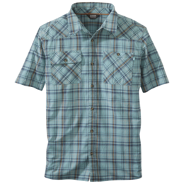 OR Men's Growler II S/S Shirt seaglass plaid