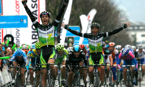 Spectacular second stage for GreenEDGE at Pais Vasco