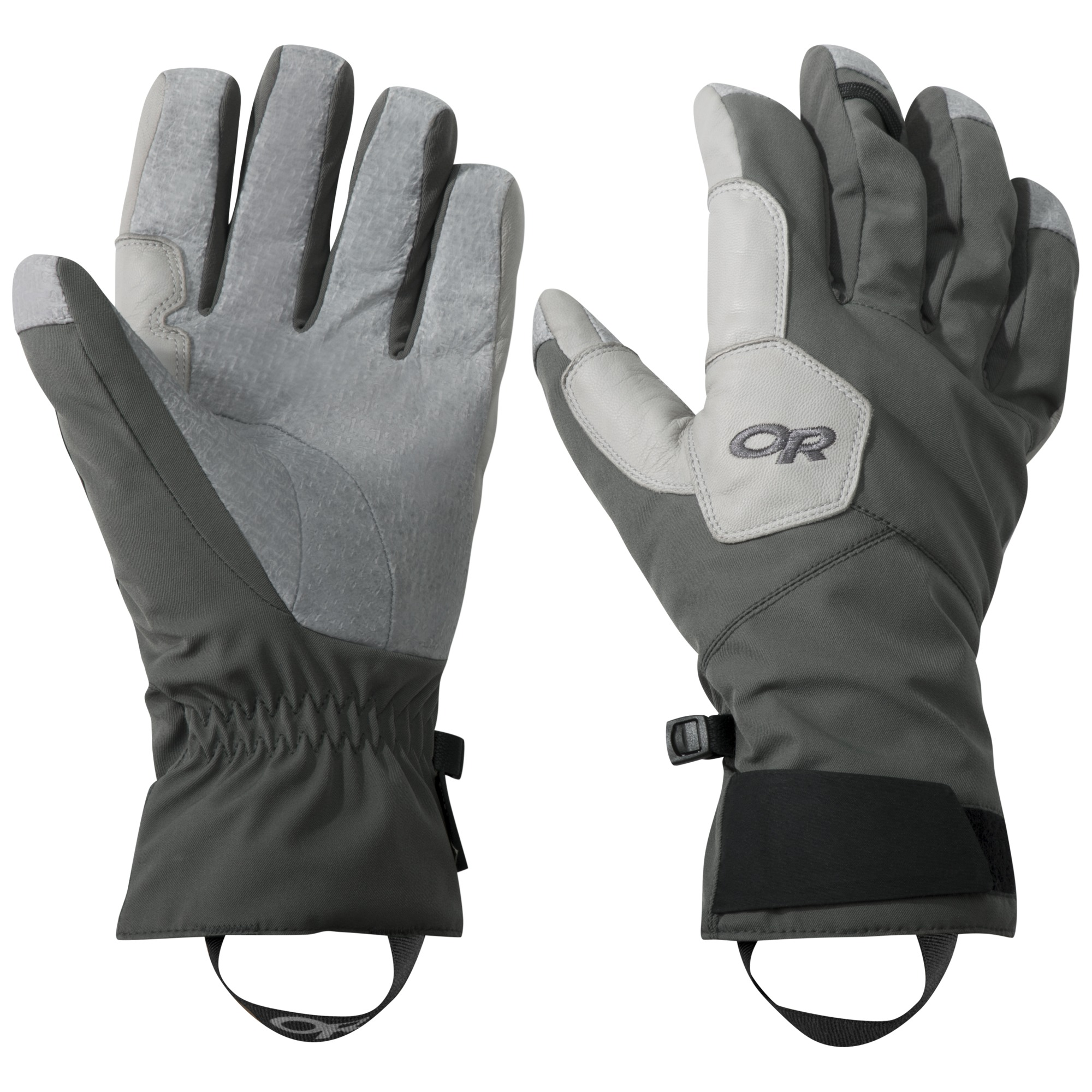 BitterBlaze Aerogel Gloves - charcoal/alloy   Outdoor Research