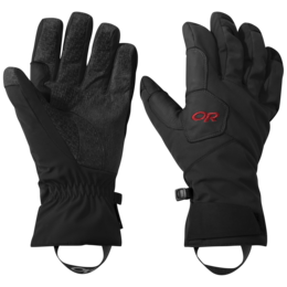 OR BitterBlaze Aerogel Gloves black/tomato