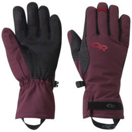 OR Women's Ouray Aerogel Gloves zin/tomato