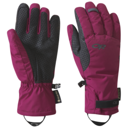 OR Women's Ouray Aerogel Gloves beet