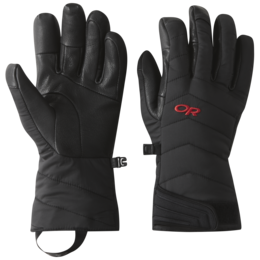 OR Ascendant Sensor Gloves black/tomato