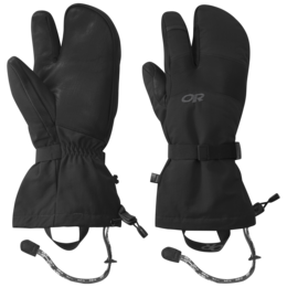 OR Men's Highcamp 3-Finger Gloves black