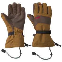 OR Men's Highcamp Gloves ochre/carob
