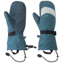 OR Women's Highcamp Mitts washed peacock/peacock
