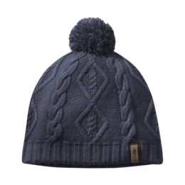 OR Women's Lodgeside Beanie naval blue heather