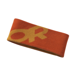 OR Booster Headband burnt orange/pumpkin