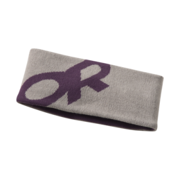 OR Booster Headband slate/pacific plum
