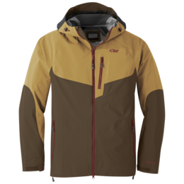 OR Men's Hemispheres Jacket carob/honey