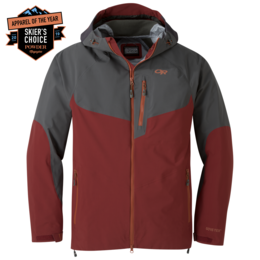 OR Men's Hemispheres Jacket firebrick/storm
