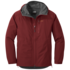 OR Men's Foray Jacket firebrick