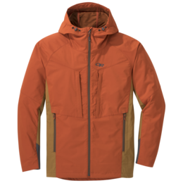 OR Men's San Juan Jacket burnt orange/ochre