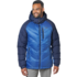OR Men's Alpine Down Hooded Jacket cobalt/naval blue