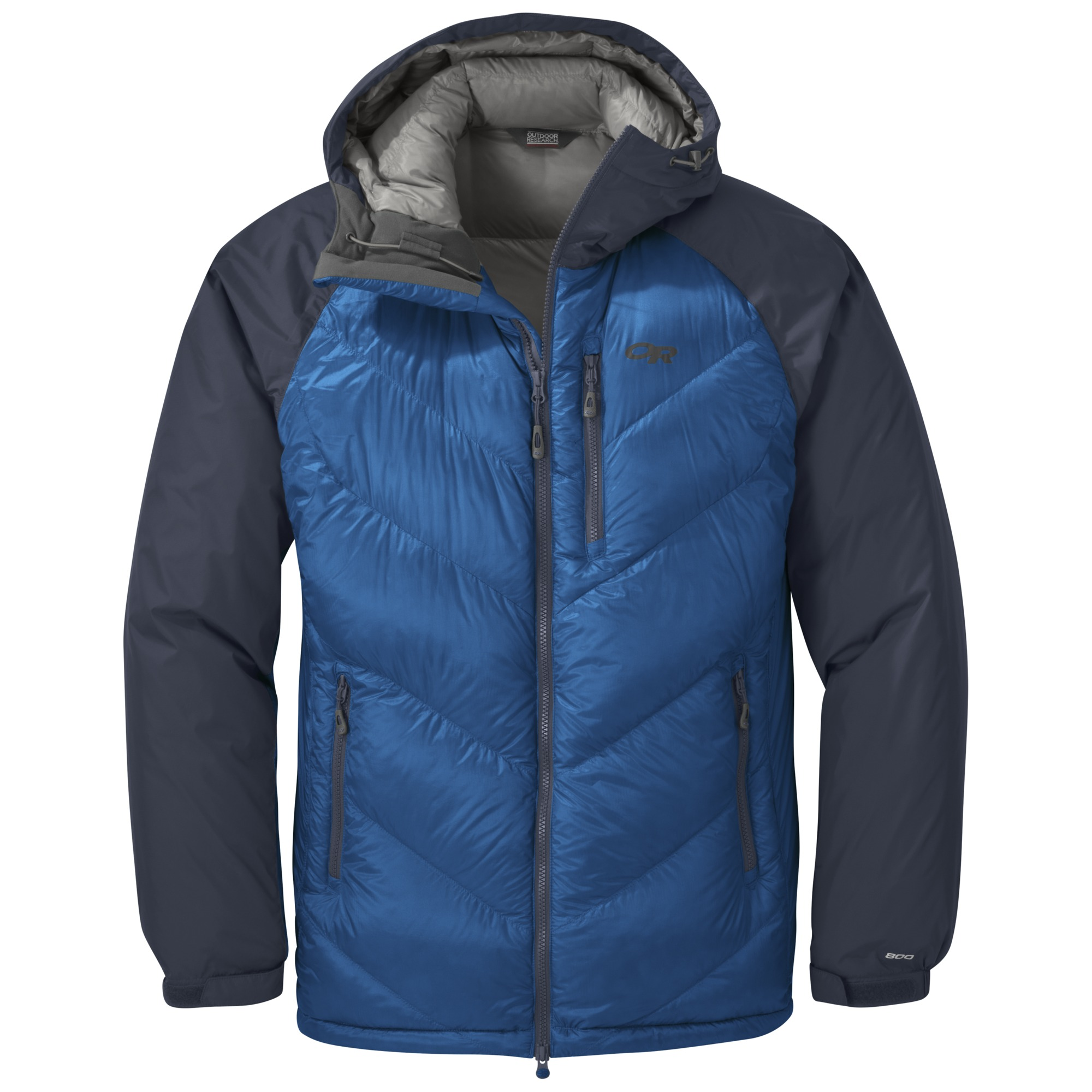 6d822f5ce Men's Alpine Down Hooded Jacket - cobalt/naval blue | Outdoor Research