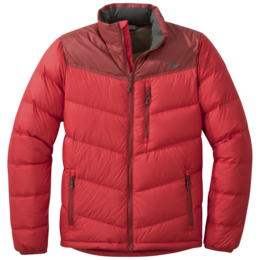 OR Men's Transcendent Down Jacket tomato/firebrick