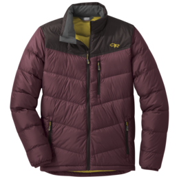OR Men's Transcendent Down Jacket raisin/dark roast