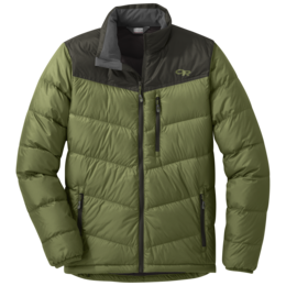 OR Men's Transcendent Down Jacket seaweed/forest