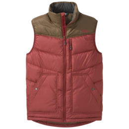 OR Men's Transcendent Down Vest firebrick/carob