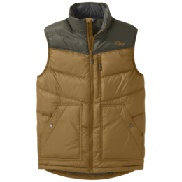 OR Men's Transcendent Down Vest ochre/juniper
