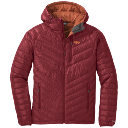 OR Men's Illuminate Down Hoody firebrick