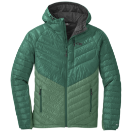 OR Men's Illuminate Down Hoody hemlock/jungle