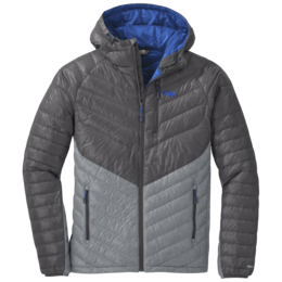 OR Men's Illuminate Down Hoody storm/light pewter