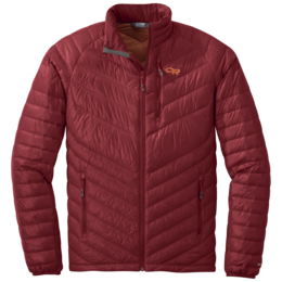 OR Men's Illuminate Down Jacket firebrick