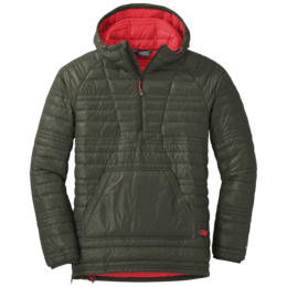 OR Men's Down Baja Pullover forest