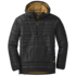 OR Men's Down Baja Pullover black/honey