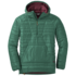 OR Men's Down Baja Pullover hemlock/zin