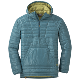 OR Men's Down Baja Pullover washed peacock/avocado