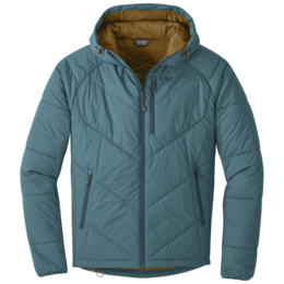 OR Men's Refuge Hooded Jacket washed peacock