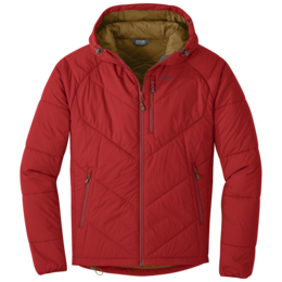 OR Men's Refuge Hooded Jacket tomato