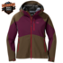 OR Women's Hemispheres Jacket carob/zin