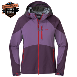 OR Women's Hemispheres Jacket pacific plum/amethyst