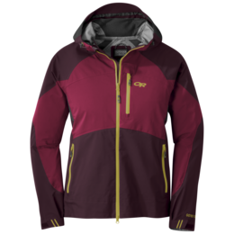 OR Women's Hemispheres Jacket cacao/beet