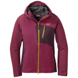 OR Women's Skyward II Jacket beet/cacao