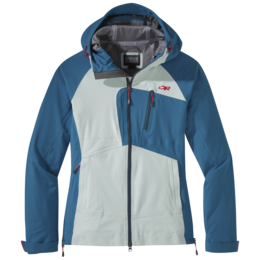 OR Women's Skyward II Jacket waterfall/celestial blue