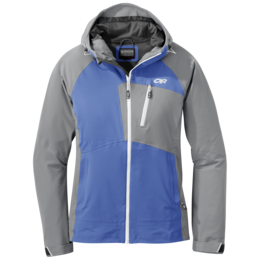 OR Women's Skyward II Jacket wave blue/light pewter