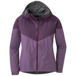 OR Women's Aspire Jacket amethyst/pacific plum