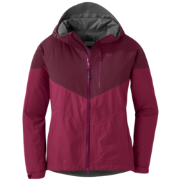 OR Women's Aspire Jacket sangria/garnet