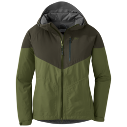 OR Women's Aspire Jacket seaweed/juniper