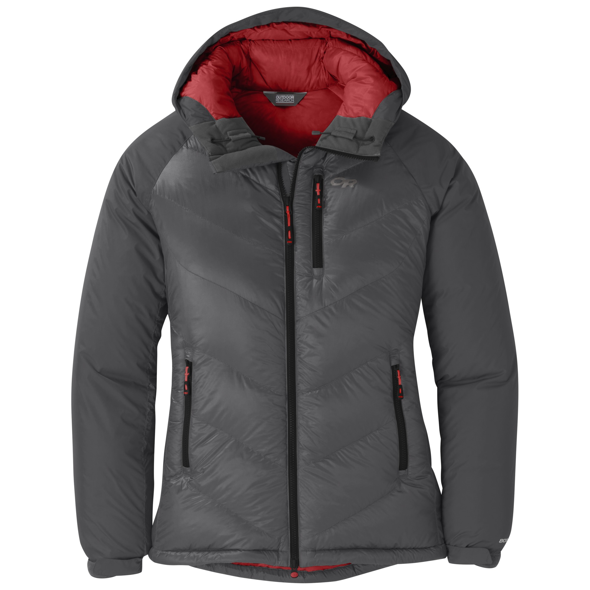 3f4189152 Women's Alpine Down Hooded Jacket - storm | Outdoor Research