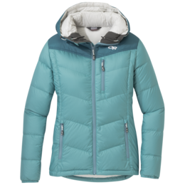 OR Women's Transcendent Down Hoody seaglass/washed peacock
